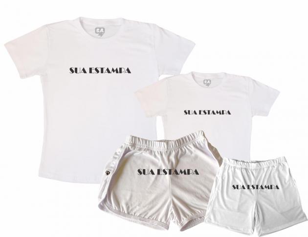 Kit Pijamas Tal Mãe, Tal Filho Personalize