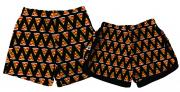 Kit Shorts Tactel Casal De Verão Pizza