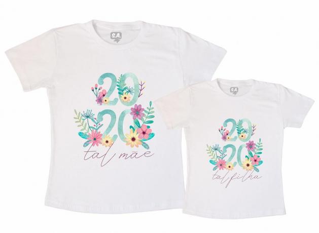 Kit Tal Mãe Tal Filha  2020 Flores