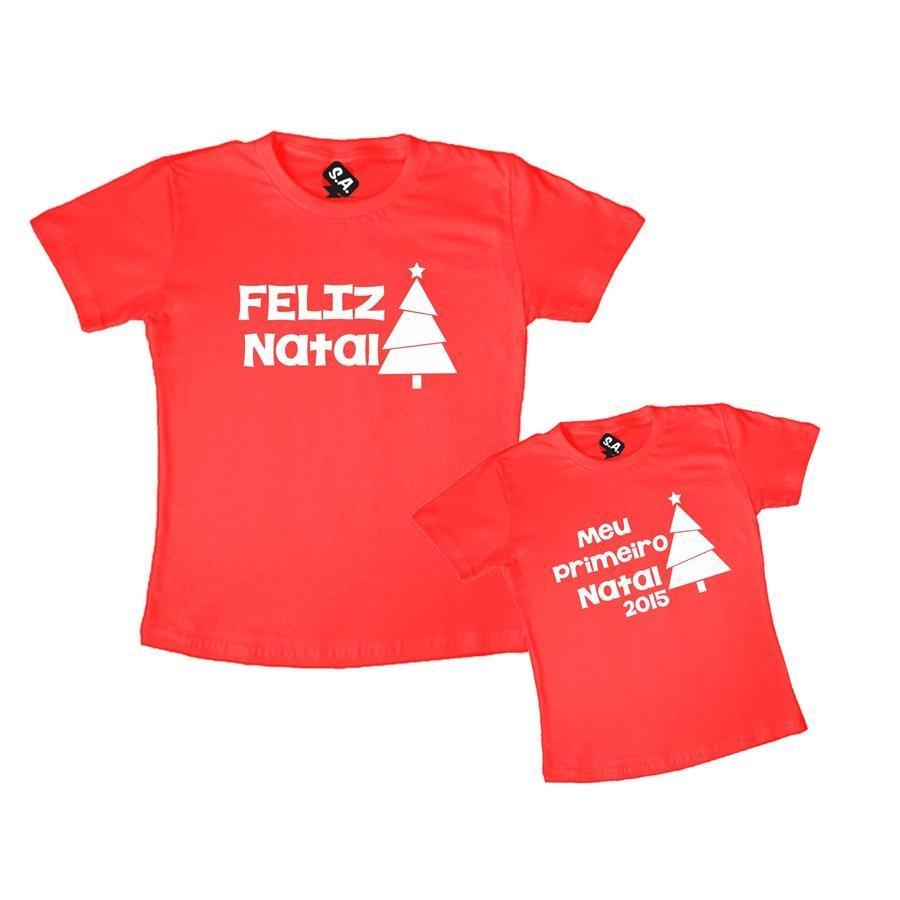 Kit Tal Mãe Tal Filho (a) Feliz Natal