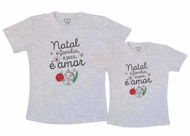Kit Tal Mãe Tal Filho (a)  Natal é Família