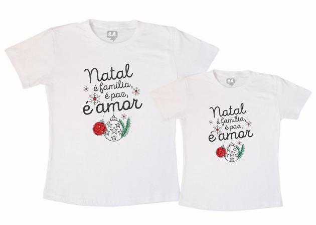 Kit Tal Mãe Tal Filho (a) - Natal é Paz