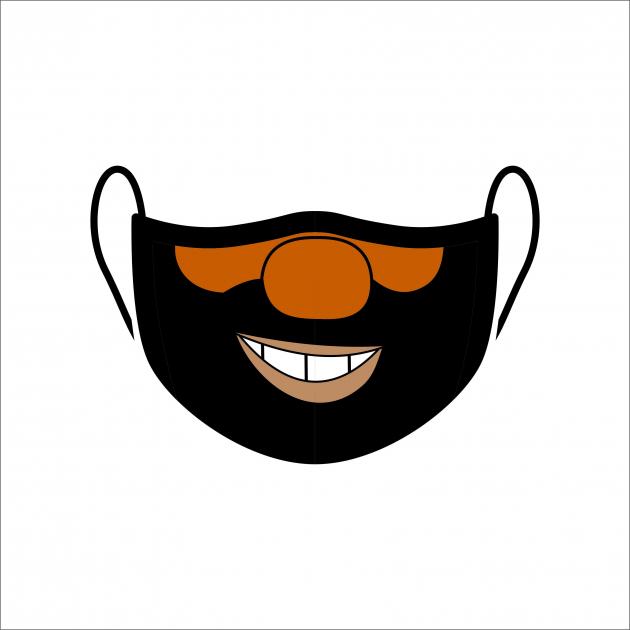 Máscara de Proteção Facial Reutilizável e Lavável Brutus