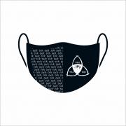Máscara de Proteção Facial Reutilizável e Lavável Dark