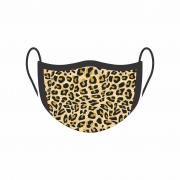 Máscara de Proteção Facial Reutilizável e Lavável Oncinha