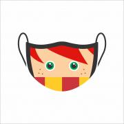 Máscara de Proteção Facial Reutilizável e Lavável Rony