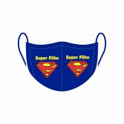 Máscara de Proteção Facial Reutilizável e Lavável Super Filho