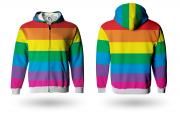 Moletom Adulto -  Rainbow