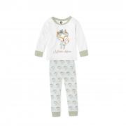 Pijama Infantil de Malha com Punho Raposinha 1