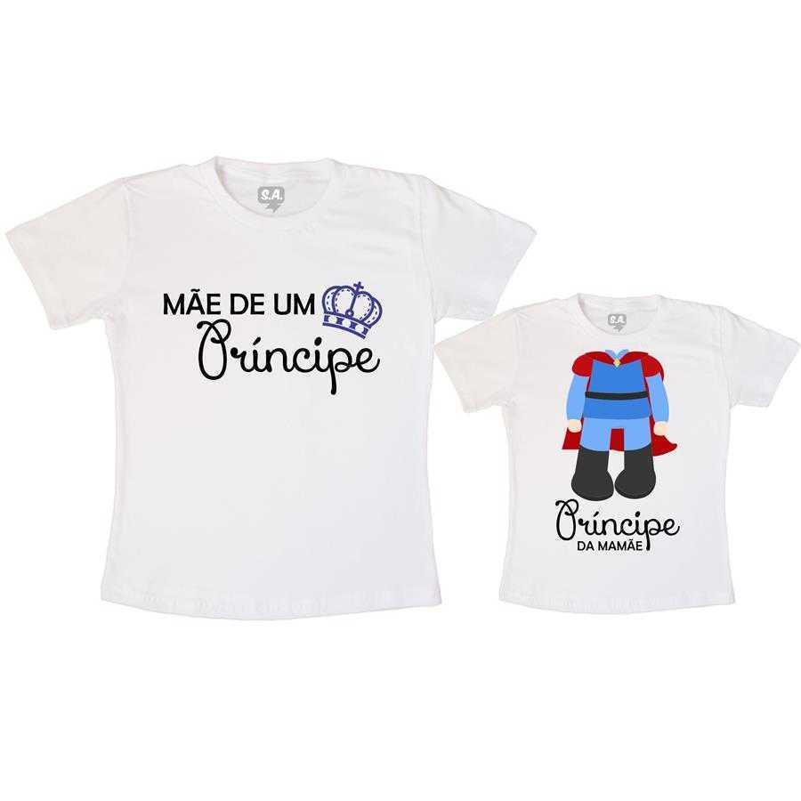 6a234dc55363 Tal Mãe, Tal Filho Camiseta Mãe de Um Príncipe na Camiseteria S.A.