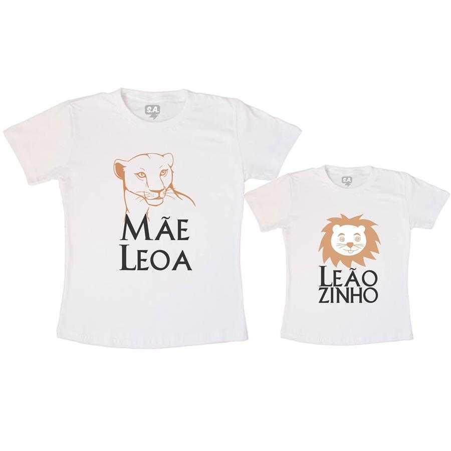 a0a75038fc4c Tal Mãe, Tal Filho Camiseta Mãe Leoa na Camiseteria S.A.
