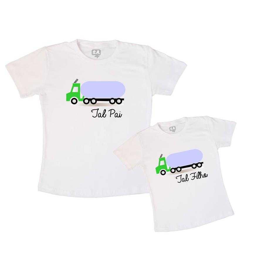 69a8a672985c Tal Pai, Tal Filho Camiseta Caminhão na Camiseteria S.A.