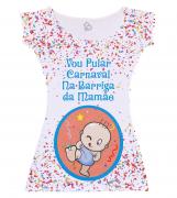 Vestido Adulto Pular Carnaval na Barriga da Mamãe