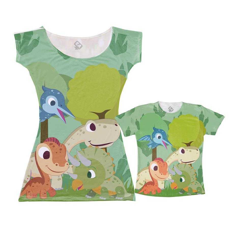 21f465a9bb Vestido e Camiseta - Dinossauro na Camiseteria S.A.