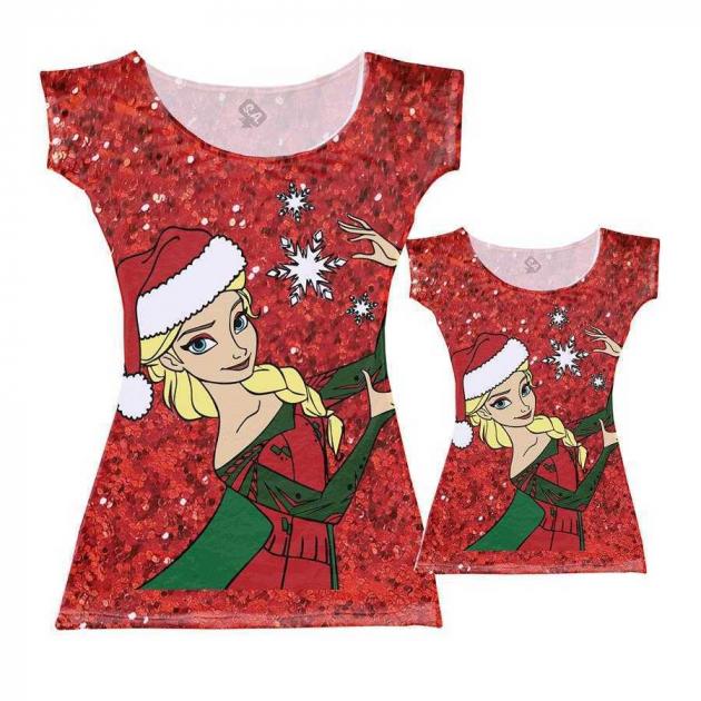 Vestidos Tal Mãe, Tal Filha Elsa Natal